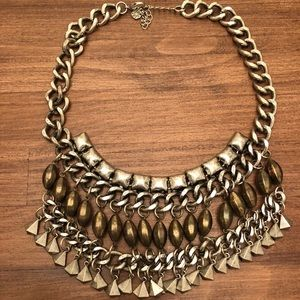 **LOWEST**ASOS Statement necklace mixed metal